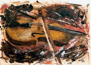Repos del violi 70x50 2006