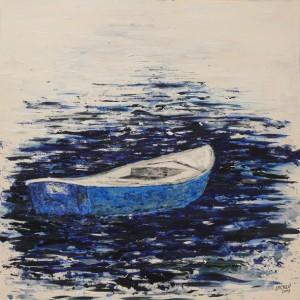 Barco sin barquero 100 x 100