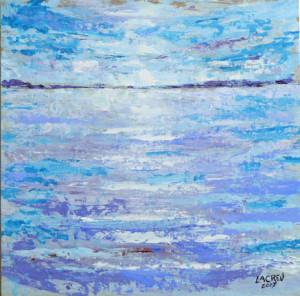 Mar en calma-37x37